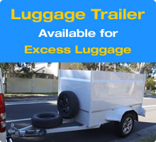 Luggage Trailer - Sydney Airport Shuttle - Star Shuttle